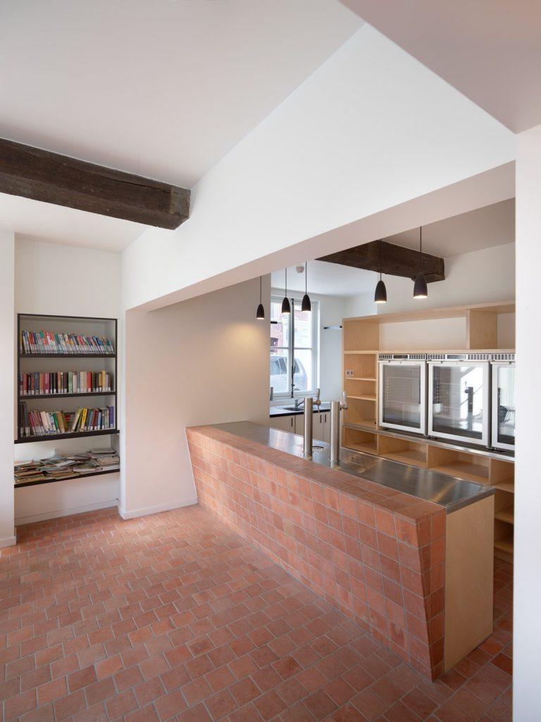 LAVA-Architecten-De Rinck-interior bar in monument_© Lumecore
