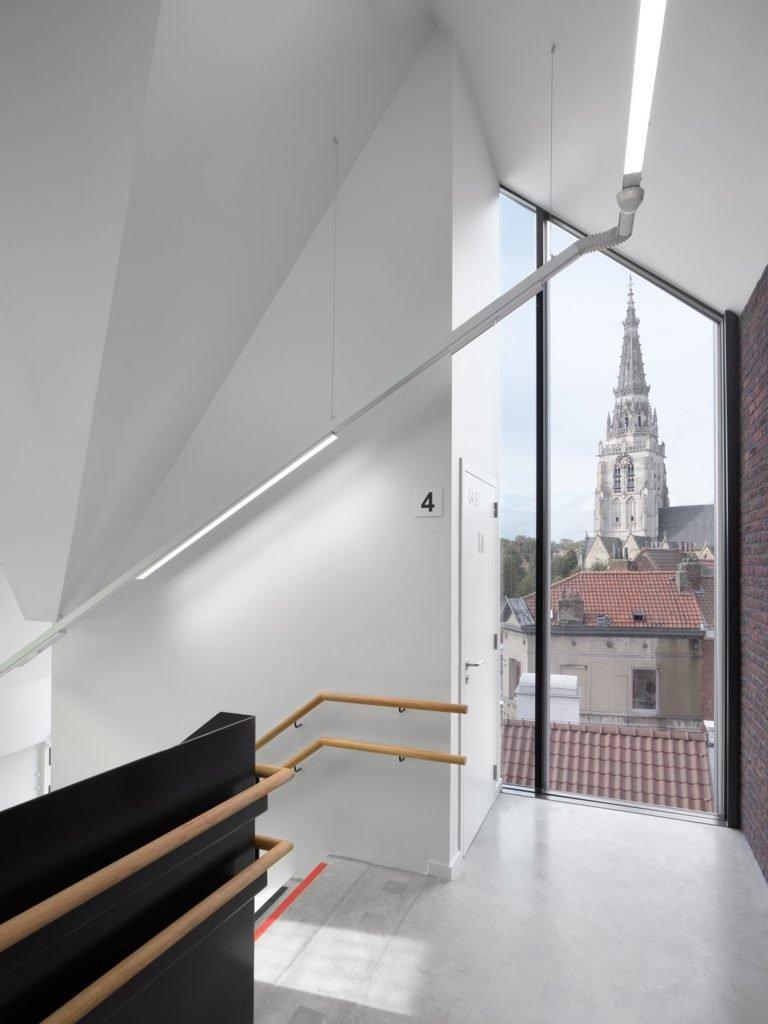 LAVA-Architecten-De Rinck-interior circulation_© Lumecore